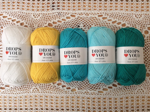 The Meadow DROPS mystery CAL - Buy Drops Loves You 7 from Cotton Pod Ramsbottom Bury UK