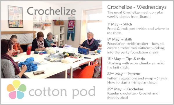 Crochelize - social crochet group in Ramsbottom Greater Manchester