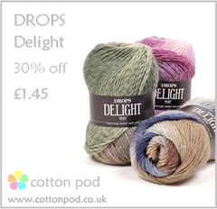 Sock Knitting yarn sale Drops Delight buy from www.cottonpod.co.uk