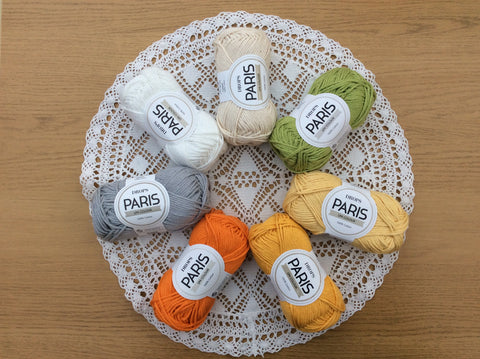 DROPS Paris Easter Crochet Colour Palette at Cotton Pod