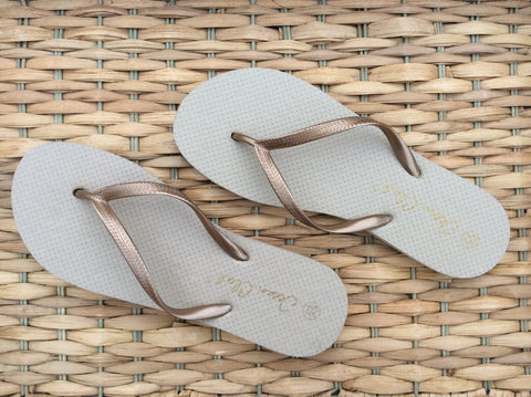 Fancy Flouncy Flips Flops by Cotton Pod