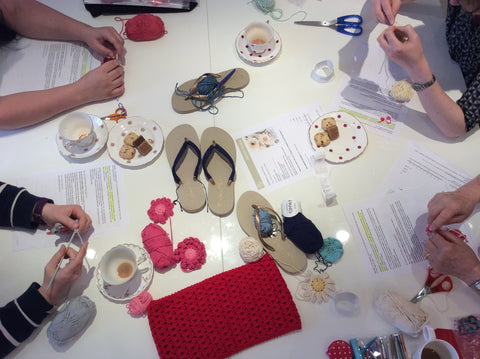 Flip Flop workshop Stitch Studio Ramsbottom UK