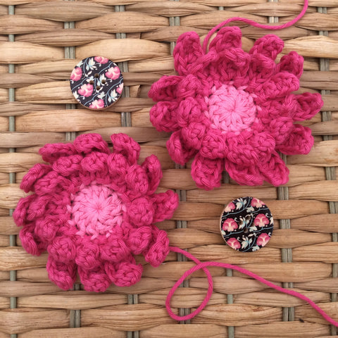 Crochet Gerbera by Cotton Pod