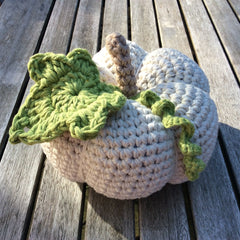Cotton Pod Crochet Kit Large pumpkin