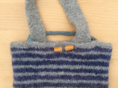 Felted Bag By Cotton Pod UK