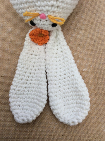 Megg Easter Bunny, made from DROPS Paris by Cotton Pod