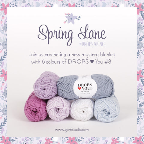 Spring Lane DROPSALONG buy DROPS Loves you 8 Yarn at www.cottonpod.co.uk