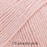 DROPS Cotton Merino 05 powder pink ~ buy at Cotton Pod