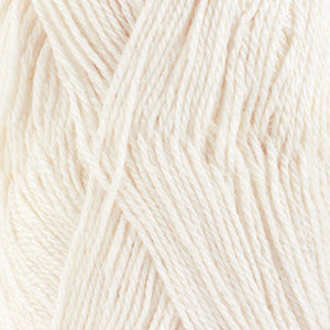 DROPS Baby Alpaca Silk 1101 white ~ yarn ~ buy from Cotton Pod Ramsbottom Bury UK