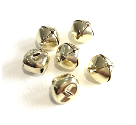 20mm Gold Bells x6
