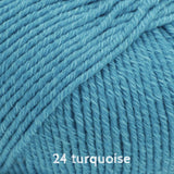 Buy DROPS Cotton Merino 24 turquoise at Cotton Pod