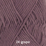 Buy DROPS Cotton Light 24 grape from Cotton Pod