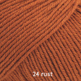 DROPS Cotton Merino 25 rust ~ buy from Cotton Pod
