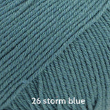 DROPS Cotton Merino 26 storm blue ~ buy from Cotton Pod