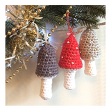 COTTON POD Crochet Pattern ~ Twinkling Toadstools (Free PDF Download)