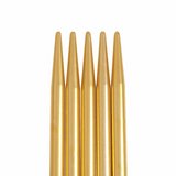 PONY ~ COLOUR ~ Aluminium Double Pointed Needles ~ Set of Five ~ 20cm long  (Sizes: 4mm - 5mm)
