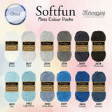 *Scheepjes Softfun Colourpack - CLOUD