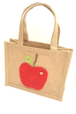 Cotton Pod Crochet Kit ~ Juicy Apple Lunch Bag