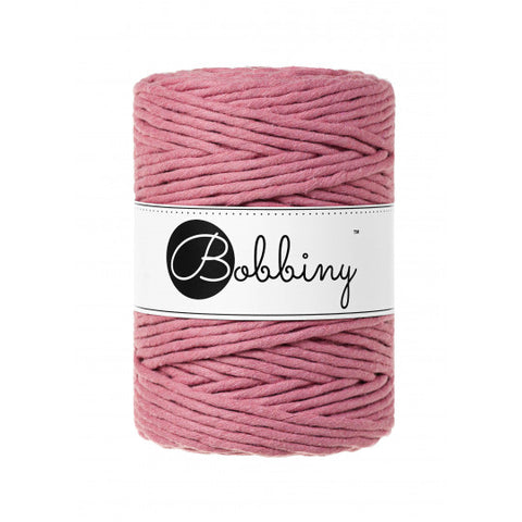 Buy Bobbiny 5mm Macramé Cord Blossom from Cotton Pod UK