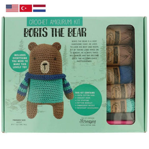 Buy Tuva Amigurumi Crochet Kit Boris the Bear