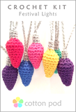 Festival/Christmas Lights Crochet Kit buy from Cotton Pod