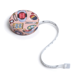 Buy Retractable Tape Measure ~ Contemporary Notions Print ~ Hobby Gift from Cotton Pod UK