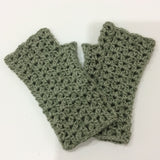 COTTON POD Crochet Pattern ~ Whitstable Wrist Warmers (PDF Download)