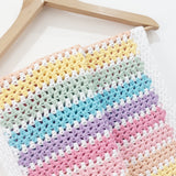 Crochet Candy Stripe Baby Blanket Kit from Cotton Pod UK