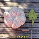 COTTON POD Crochet Kit - Large Pumpkin