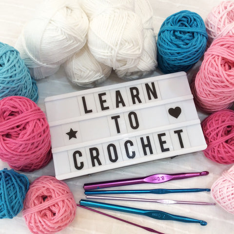 Learn to Crochet Course - January 2020