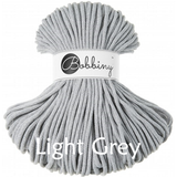 Buy Bobbiny 5mm Braided Cord from Cotton Pod UK  Light grey