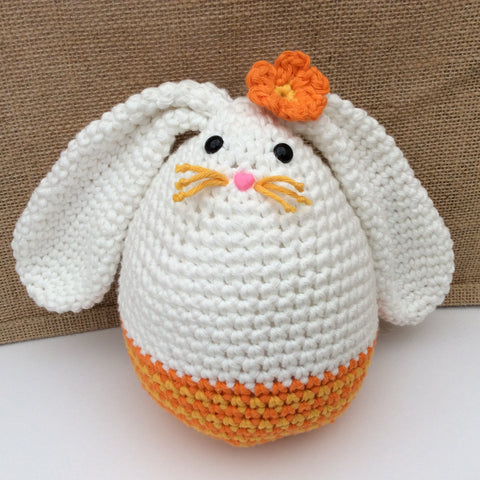 Megg Easter Egg Bunny Crochet pattern by Cotton Pod, DROPS Paris