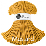 Buy Bobbiny 5mm Braided Cord from Cotton Pod UK Mustard