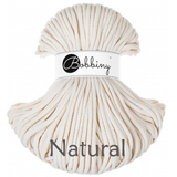 Buy Bobbiny 5mm Braided Cord from Cotton Pod UK  Natural
