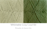 COTTON POD Crochet Kit ~ Whitstable Cosy Cowl ~ available in 7 shades