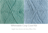 COTTON POD Crochet Kit ~ Whitstable Cosy Cowl ~ available in 8 shades