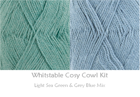 COTTON POD Crochet Kit ~ Whitstable Cosy Cowl ~ available in 5 shades