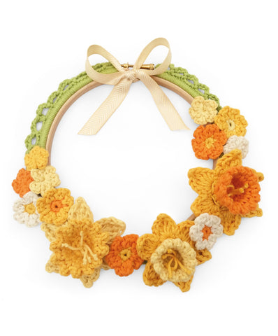 Spring Wreath Crochet Kit by Cotton Pod