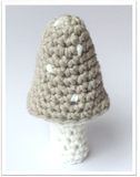 Twinkling Toadstool Crochet Pattern ~ Free from Cotton Pod