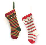 COTTON POD Crochet Pattern ~ Jingle Bells Stocking (PDF download)