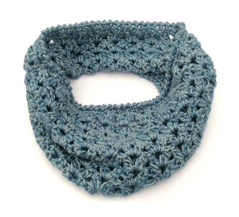 COTTON POD Whitstable Cosy Cowl - FREE Crochet Pattern (PDF download)