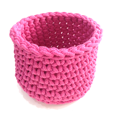 Beginners Crochet Workshop ~ Chunky Baskets ~ Private Listing for Caroline