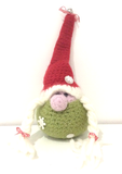Christmas Gonk Crochet Kit buy from www.cottonpod.co.uk