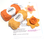 Daffodil Crochet Kit by Cotton Pod made from DROPS Paris 13 14