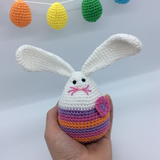 Mini Megg Bunny & the Egg Hunt Crochet Pattern