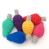 COTTON POD Festival/Christmas Lights - Crochet Pattern (PDF download)