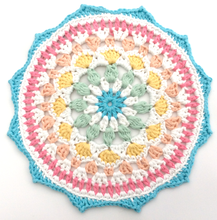 Naissance Mandala by Cotton Pod made with DROPS Paris