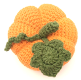 COTTON POD Crochet Pattern - Pumpkin (PDF download)