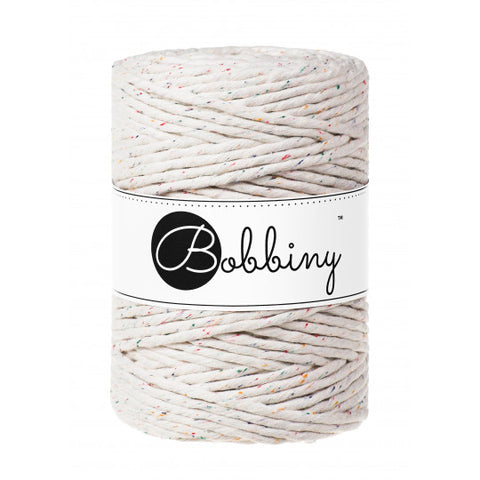 Buy Bobbiny Macrame Cord from Cotton pod UK rainbow dust