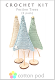 Crochet Christmas Tree Kit by Cotton Pod